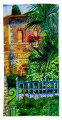 'casa At Radda' Beach Towel