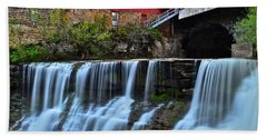 Chagrin Falls Beach Towel