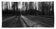 Charred Silence - Yosemite Rim Fire 2013 Beach Sheet