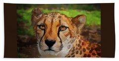 Cheetah Mama Beach Towel