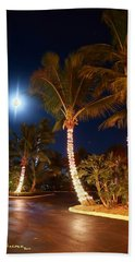 Christmas Palms Beach Towel