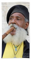 Cigar Man Beach Sheet