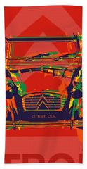 Citroen 2cv Beach Towel