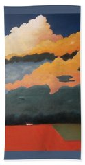Cloud Rising Beach Towel