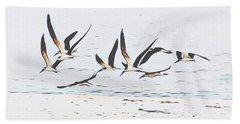 Coastal Skimmers Beach Towel