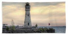 Coastguard Lighthouse Beach Sheet