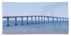 Confederation Bridge Panorama Beach Towel