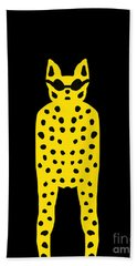 Simply Cool For Cats  Beach Towel