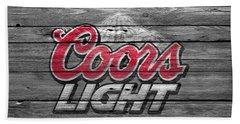 Coors Light Beach Sheet