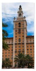 Coral Gables Biltmore Hotel Beach Sheet