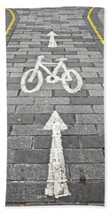 Cycle Path Beach Towel