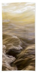 Dance Of Water And Light Beach Towel