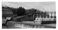 Daniel Pratt Cotton Mill Dam Prattville Alabama Beach Towel