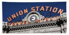 Denver - Union Station Beach Towel