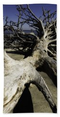 Driftwood Beach Sheet by Fran Gallogly