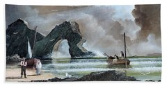 Durdle Door - Dorset Beach Towel