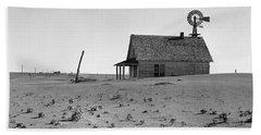 Dust Bowl, 1938 Beach Towel