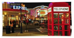 D65l-162 Easton Town Center Photo Beach Towel