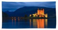 Eilean Donan Castle - Scotland Beach Towel