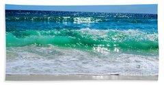 Emerald Curl Beach Towel