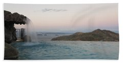 Evening Overlook Beach Towel