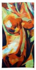 Exhilaration Beach Towel by Helena Wierzbicki