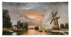 Fairhaven Mill Beach Towel