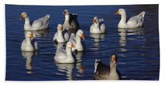 Family Goose Beach Towel