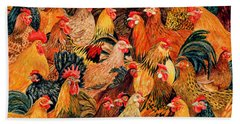 Fine Fowl Beach Sheet by Ditz