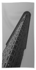 Flat Iron Building Beach Towel