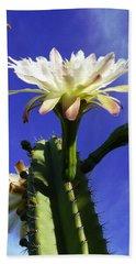 Flowering Cactus 3 Beach Sheet