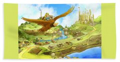 Flying On Polly Over Capira Beach Sheet