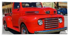 Beach Towel featuring the photograph Ford Truck by Robert L Jackson