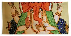 Spiritual India Beach Sheet
