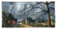 Gathering Storm Beach Towel