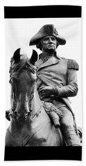 George Washington Statue Boston Ma Beach Sheet