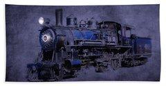Ghost Train Beach Sheet