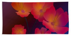 Beach Towel featuring the digital art Glorious by Latha Gokuldas Panicker