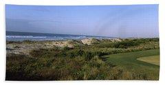 Golf Course At The Seaside, Kiawah Beach Towel