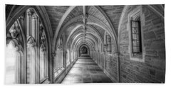 Gothic Hall At Princeton Nj Beach Towel