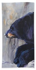 Grandfather Bear Beach Towel