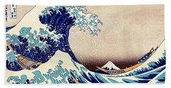Great Wave Off Kanagawa Beach Towel