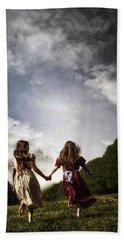 Hand In Hand Through Life Beach Towel
