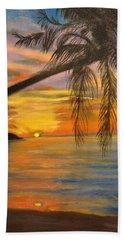 Hawaiian Sunset 11 Beach Towel