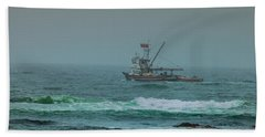 Beach Towel featuring the photograph Heading Out by Steven Reed