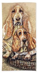 Hess'er Puppies Beach Towel