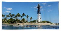 Hillsboro Inlet Lighthouse Beach Sheet