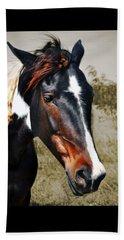 Beach Towel featuring the photograph Horse by Savannah Gibbs
