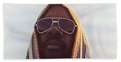 Isaac Hayes -  Black Moses Beach Towel