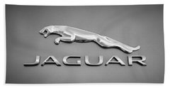 Jaguar F Type Emblem Beach Sheet
